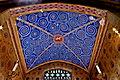 Saint Vincent de Paul Church (Mt. Vernon, OH) - interior, santuary ceiling - Lamb of God with vine motif.jpg
