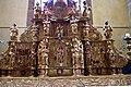 Sainte-Colome, Pyrénées atlantiques, église Saint-Sylvestre, retable du maitre autel IMGP0797.jpg