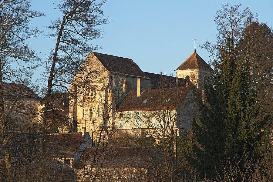 Église de Sainte-Vertu côté abside