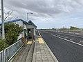 Sakaya Bus Stop, Ban-etsu Expressway, Japan, May 2021.jpg