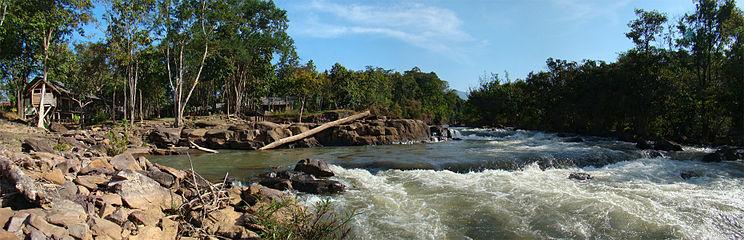 Salavan Laos  city photo : Downstream of Tatlo Waterfalls