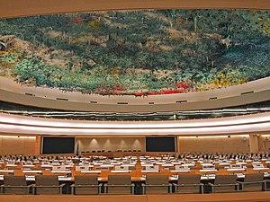 Description de l'image Salle du conseil des droits de l'homme onu Genève.jpg.