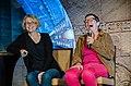 Sally Malcolm and Sabine Bauer - Gatecon 2016 (34841200931).jpg