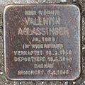 Salzburg - Gnigl - Turnerstraße 10 - Stolperstein Valentin Aglassinger.jpg