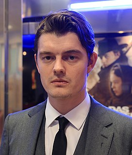 Sam Riley British actor