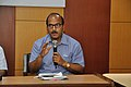 Samarendra Kumar Speaks - Valedictory Session - Workshop on Organising Indian and World Robot Olympiad - NCSM - Kolkata 2016-03-09 2392.JPG