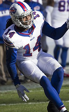 refer to caption. Watkins with the Buffalo Bills ... 977c96467