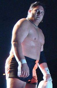 Samoa Joe at a TNA live event in 2007.