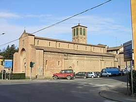 Romanesque cathedral of San Cesario sul Panaro.