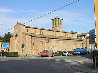 San Cesario sul Panaro - Romanesque cathedral of San Cesario sul Panaro.