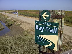 San Francisco Bay Trail Wikipedia - San jose bike trails map