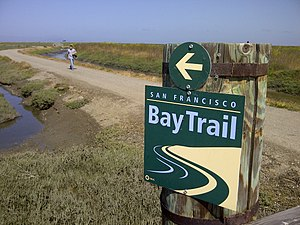 San Francisco Bay Trail - San Francisco Bay Trail in Hayward Regional Shoreline