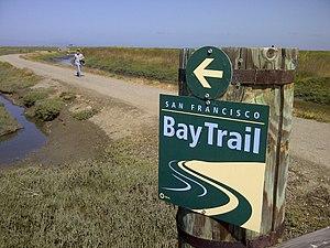 San Francisco Bay Trail - San Francisco Bay Trail in Hayward Regional Shoreline