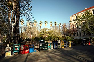 Media in the San Francisco Bay Area - Newspaper vending machines in downtown San Jose