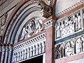 San Martino, Lucca, Italy - facade detail 1.JPG