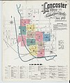 Sanborn Fire Insurance Map from Lancaster, Fairfield County, Ohio. LOC sanborn06756 003-1.jpg