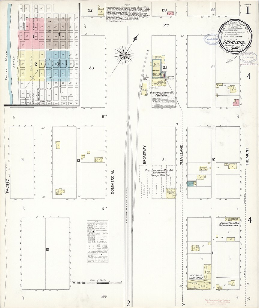 File Sanborn Fire Insurance Map From Oceanside San Diego County