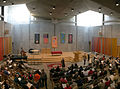 Sanctuary of First Unitarian Church of Rochester during Sunday service 2.jpg