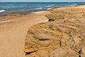 Sand concretions Les Portes-en-Ré Charente Maritime.jpg