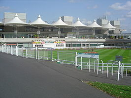 Parade Ring van Sandown Park in Esher