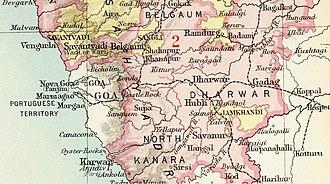 Sawantwadi State - Savantvadi State in the Imperial Gazetteer of India