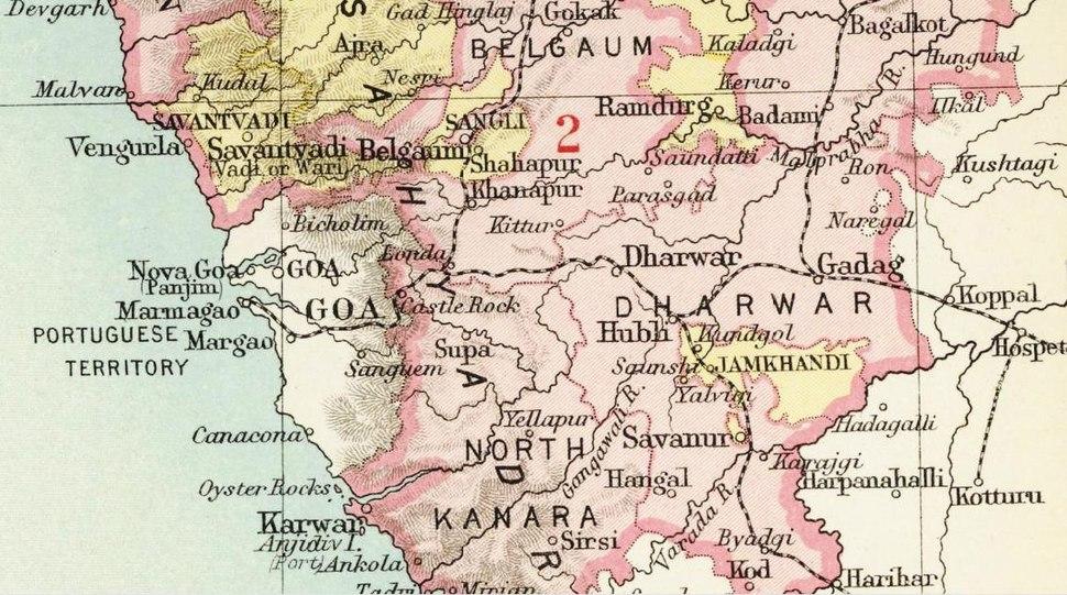 Location of Sangli
