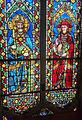 Santa croce, int., cappella maggiore, vetrate su disegno di agnolo gaddi 02.jpg