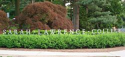 Sarah Lawrence Sign.JPG