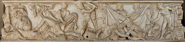 Scene dal mito di Oreste (Musei Vaticani).