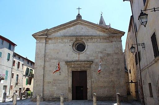 La collegiata di San Lorenzo, Sarteano