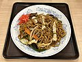 Sauce fried noodles of Gyoza-no-Manshu.jpg