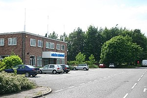 Saxham Industrial Estate. Just off the A14 west of Bury St Edmunds. Other tenants include Class UK and Christian Salvesen