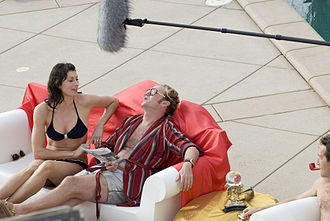 Scarlett Chorvat - Chorvat on the set of Narcissus Dreams, November 4, 2009, Malibu, California (with Thomas Beaumont)