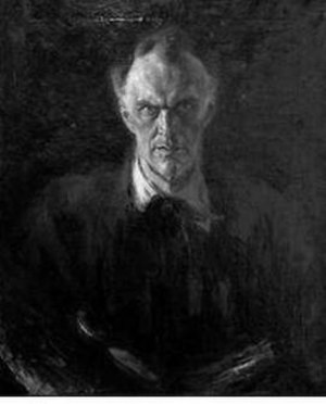 Dmitry Shcherbinovsky - Self-portrait (after 1917)