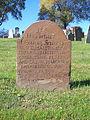 Schidler (J. Conrad), Brush Creek Cemetery, 2015-10-26, 01.jpg