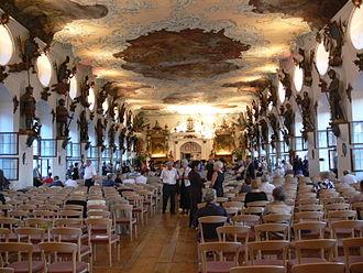 Schloss Wolfegg - Image: Schloss Wolfegg Rittersaal bei Konzert