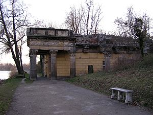 New Garden, Potsdam - Palace kitchen as a temple ruin