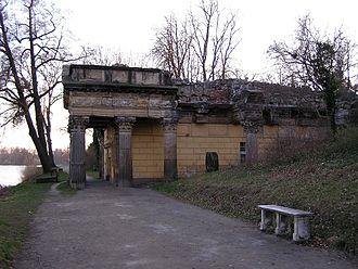 New Garden, Potsdam - Palace kitchen as a temple ruin