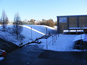 The School, and the Jessica Ennis Sports Hall in the snow (2017) Schoolsnow.jpg