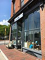 Scout & Co coffee shop front entrance in Winooski, Vermont.jpg