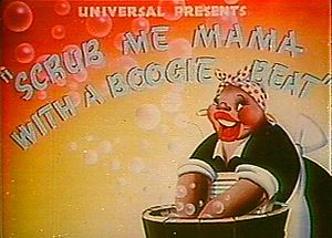 Scrub Me Mama with a Boogie Beat - Original title card