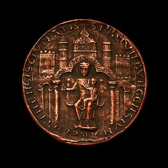 History of Strasbourg - Modern copy of the seal of Strasbourg from 1201.