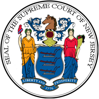 Supreme Court of New Jersey - Seal of the Supreme Court