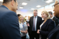Secretary of State Karen Bradley at the official opening of the new flagship premises of Allstate NI. (42517256634).png