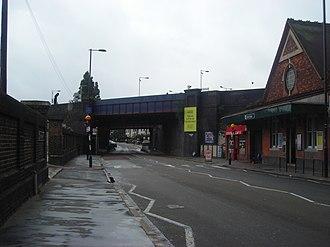 Selhurst Road - Selhust Station on Selhurst Road