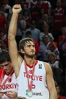 Semih Erden Turkish basketball player