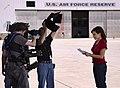Senior CNN photojournalist, Ferre Dollar, lights Robin Meade.jpg