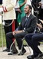 Sergio Mattarella meets Italy national football team and Matteo Berrettini (12 July 2021) 28 - Santopadre (cropped).jpg