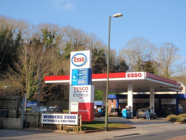 Service station, Teignmouth Road, Torquay - geograph.org.uk - 1716787