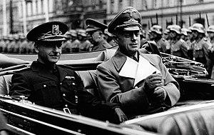 Ramón Serrano Suñer - Serrano Suñer (left) and Joachim von Ribbentrop (right) in Berlin, 1940
